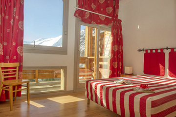 Residence Valloire - Le hameau de Valloire - Vacanceole - 1 bedroom apartment, sleeps 4