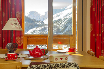 Residence Valloire - Le hameau de Valloire - Vacanceole - 2 bedrooms apartment, with cabin, sleeps 8