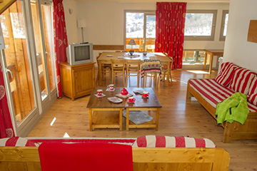Residence Valloire - Le hameau de Valloire - Vacanceole - 1 bedroom  apartment, with cabin, sleeps 6