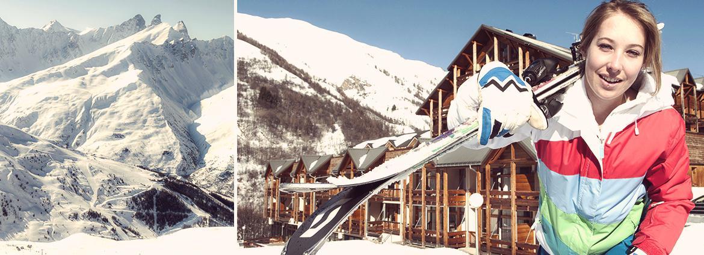 Résidence Valloire - Le hameau de Valloire - Vacancéole - Domaine de ski